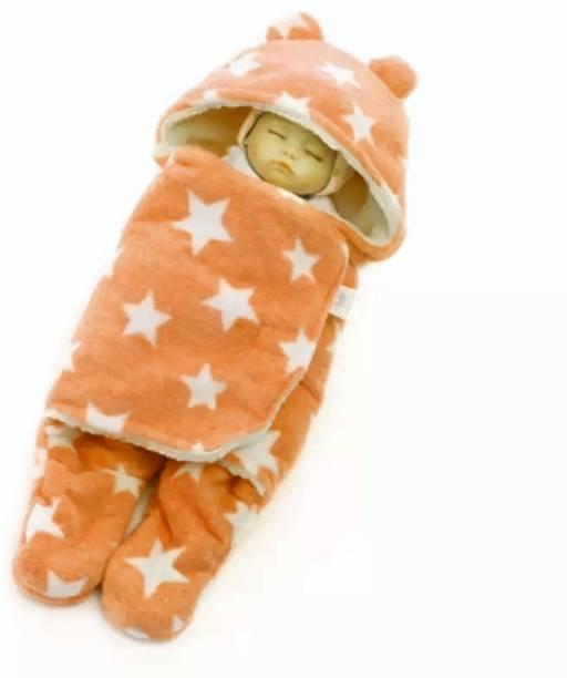 BRANDONN All Season Wearable Hooded Full Body Cover Baby Sleeping Bag For Babies Sleeping Bag