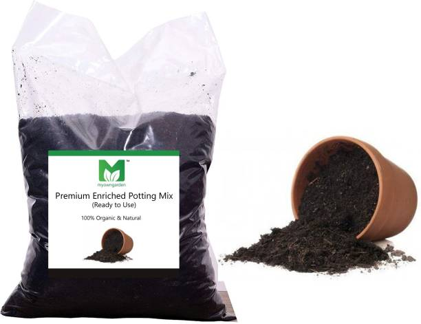 MOG ENRICHED POTTING MIX 100% ORGANIC SOIL FOR INDOOR AND OUTDOOR PLANTS Potting Mixture, Manure