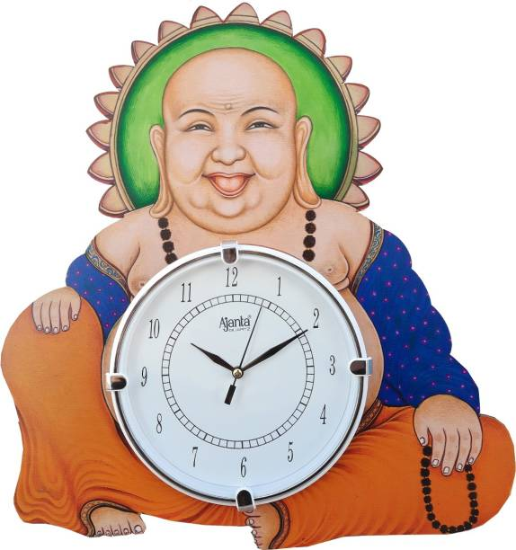 AJANTA Analog 36 cm X 38 cm Wall Clock