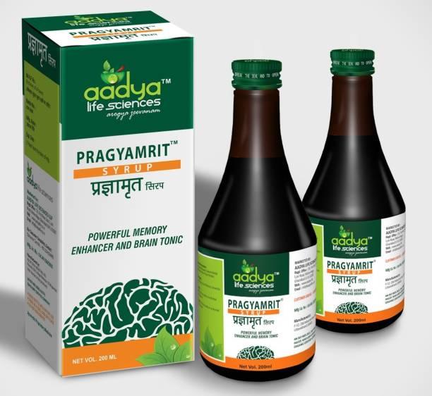 Aadya Life Pragyamrit Syrup,for Optimize Brain Performance and mental health