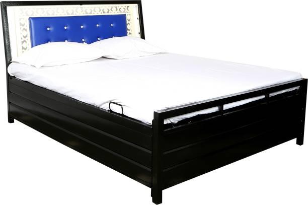 INDIAN FURNITURE MART Metal Single Hydraulic Bed