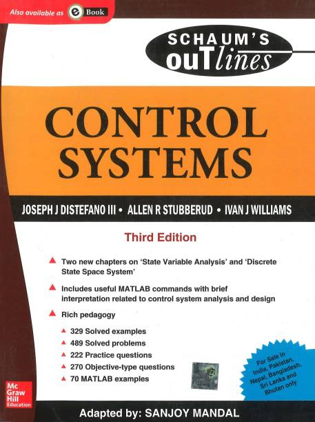 Control Systems (Schaum's Outline Series)