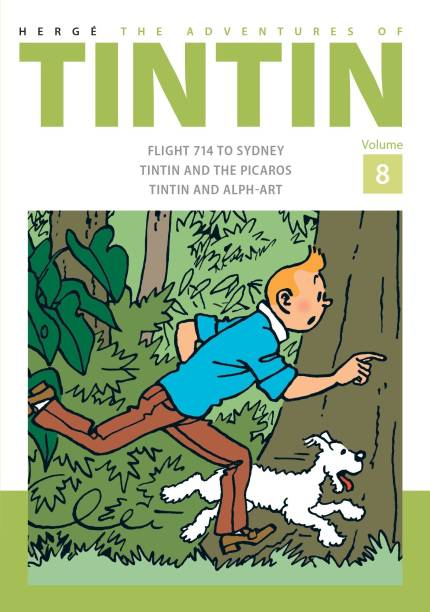 The Adventures of Tintin Volume 8