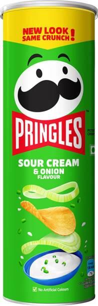 Pringles Sour Cream & Onion Flavour Chips