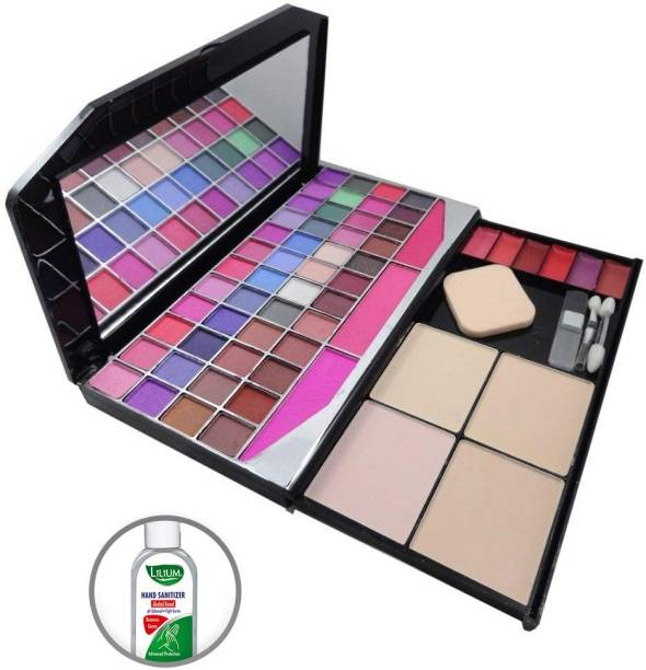 MARS Fashion Colour Make-up Kit With Free Eye/Lipliner & Adbeni Accessories-G