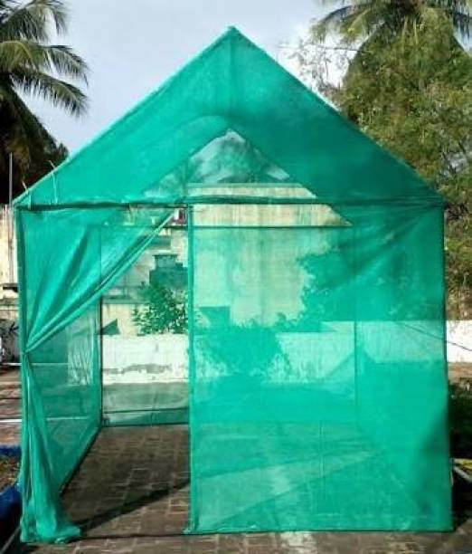 HOODWIN 75% Green Shade Net 10 x 10, Multi-Purpose Greenhouse Garden Nursery Shading Cloth - Blocks Sun Light Dust, Protect Flowers and Plants Material Polypropylene Color Green Waterproof Yes Base Present No Additional Features UV PROTETION: Our Shade Net blocks up to 75% of sun , mesh and breathable, works great for keeping the heat out from the sun on parks out door areas deck or protecting your plants from the over sun, overheating in green houses. Portable Green House