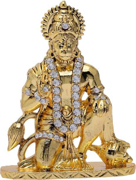 Kulin Lord Hanuman | Bajrangbali Idol For Car Dashboard | Home Decor | Gifting Decorative Showpiece  -  7.5 cm