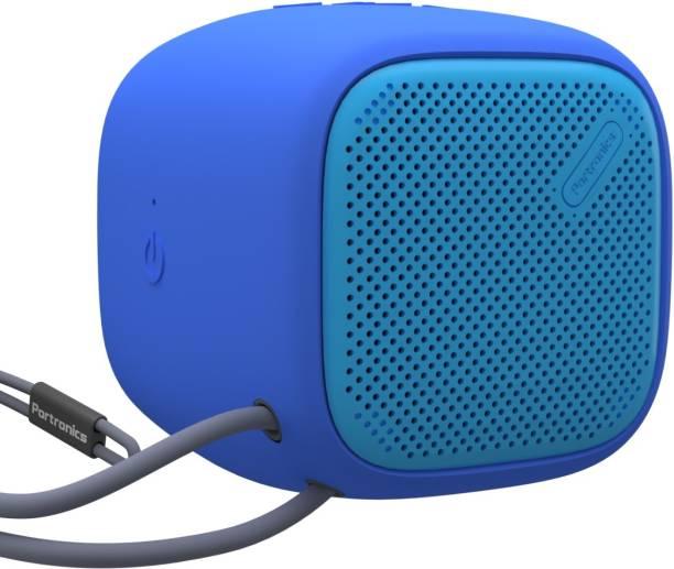 Portronics Bounce POR-952 Portable Bluetooth Speaker with FM (Blue) 5 W Bluetooth Speaker