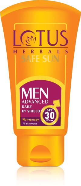 LOTUS HERBALS Safe Sun Advanced Daily UV Shield - SPF 30 PA+++