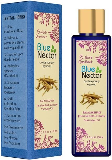 Blue Nectar Ayurvedic Body Massage Oil aids Vitamin D Absorption