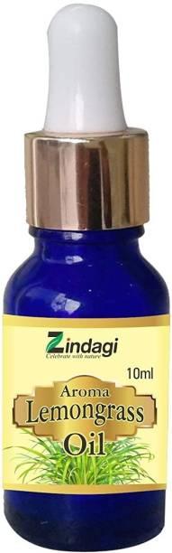 Zindagi Lemongrass Aroma Oil, Diffuser