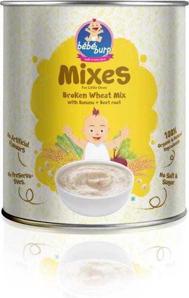 bebe burp broken wheat mix with banana and beet root Cereal