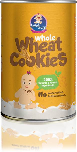 bebe burp BEBEBURP WHOLE WHEAT COOKIES Baby Snacks 100 g