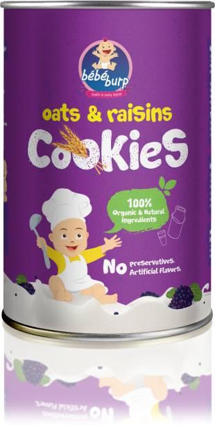 bebe burp BEBE BURP OATS & RAISINS COOKIES Baby Snacks 100 g