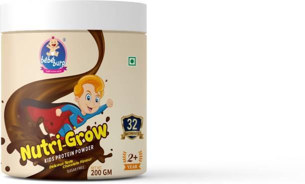 bebe burp NUTRI-GROW KIDS PROTEIN POWDER Chocolate Flavored Powder