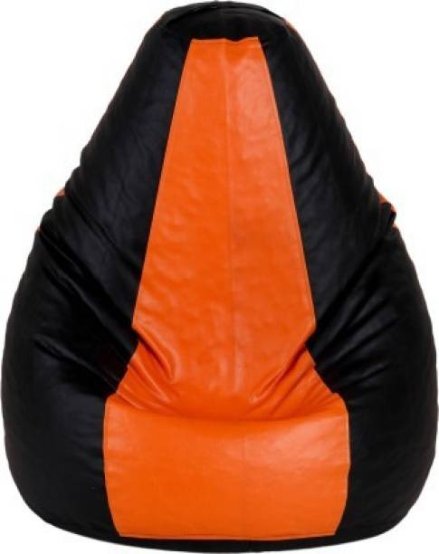 Kainaat Fashion Large Tear Drop Bean Bag Cover  (Without Beans)
