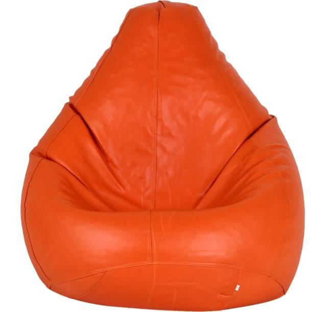 SHIRA 24 XXXL Tear Drop Bean Bag Cover  (Without Beans)