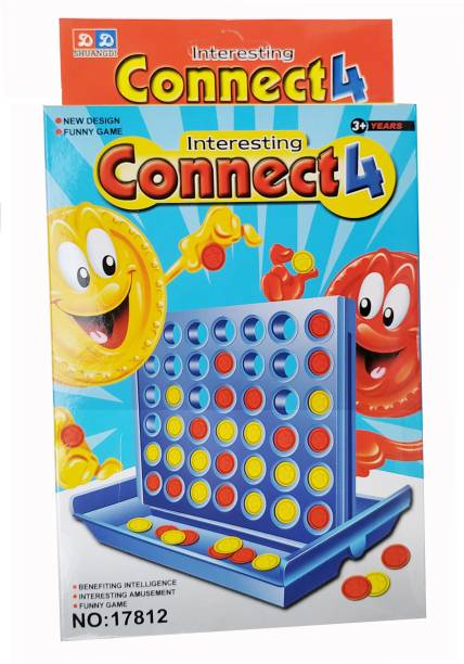 PRESENTSALE Interesting Connect 4 Board Game for Kids Educational Board Games Board Game Board Game Accessories Board Game