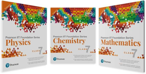 Iit Foundation Physics, Chemistry & Maths for Class 7