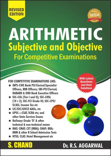 Arithmetic Subjective and Objective for Competitive Examinations First Edition