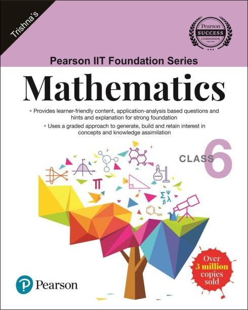 Pearson Iit Foundation Mathematics Class 6