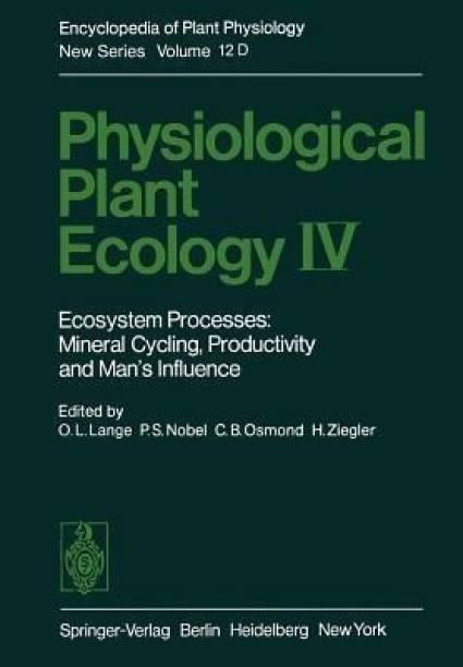 Physiological Plant Ecology IV