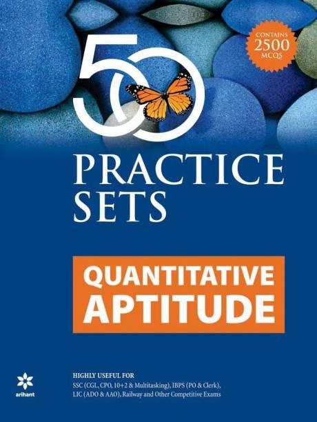 50 Practice Sets Quantitative Aptitude 2020 Edition