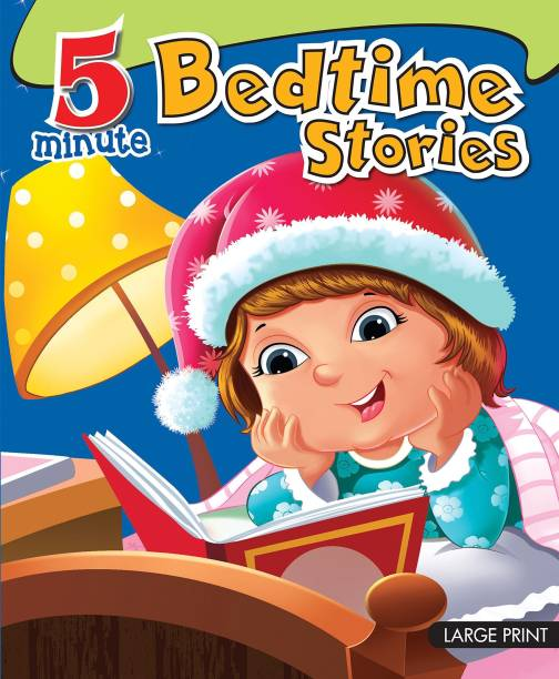 Large Print: 5 Minute Bedtime Stories