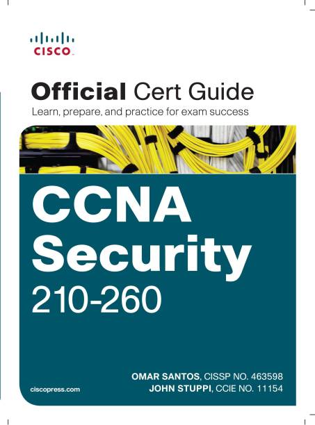 CCNA Security 210-260 Official Cert Guide 1 Edition