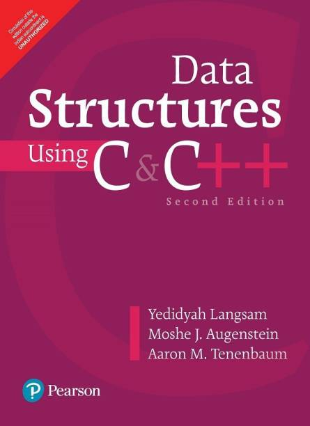 Data Structures Using C and C+ 2nd  Edition