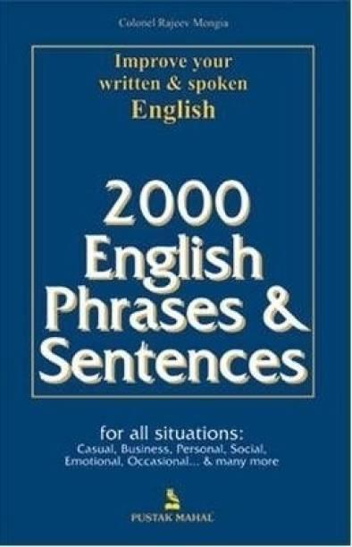 2000 English Phrases and Sentences