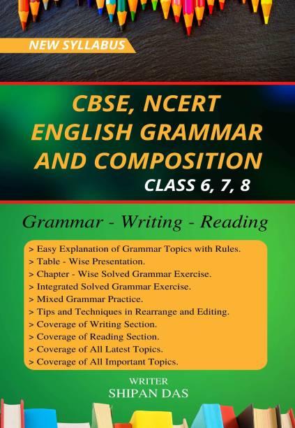 CBSE, NCERT English Grammar and Composition - Class 6, Class 7, Class 8. (VI, VII, VIII)