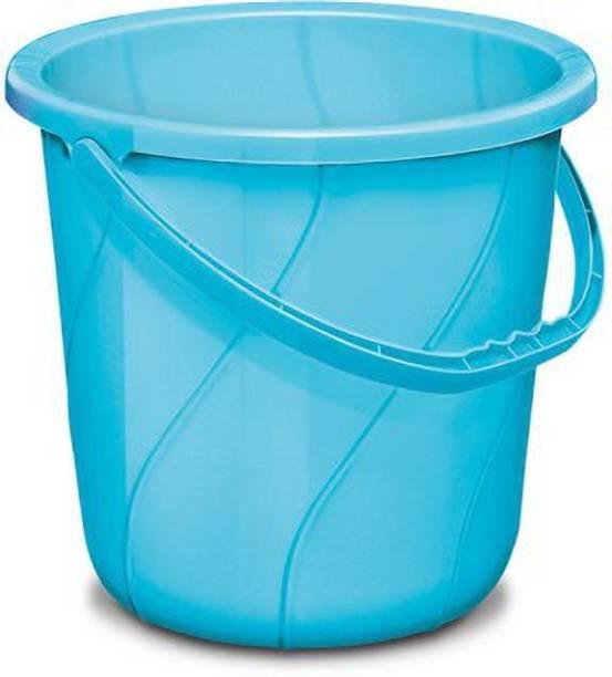 MILTON Solid Orbit Polypropylene Bucket, 25 Liters, 25 L Plastic Bucket