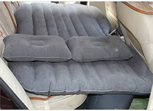 Future market FM7721 Inflatable Travel Car Bed Sofa with 2 Pillow and Air Pump for Back Seat Car Inflatable Bed