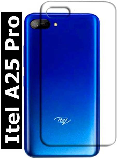 TrenoSio Back Cover for Itel A25 Pro Transparent