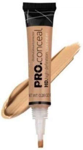 Yiliya GIRL HD Pro Conceal (Concealer), Creamy Beige, 8g Concealer
