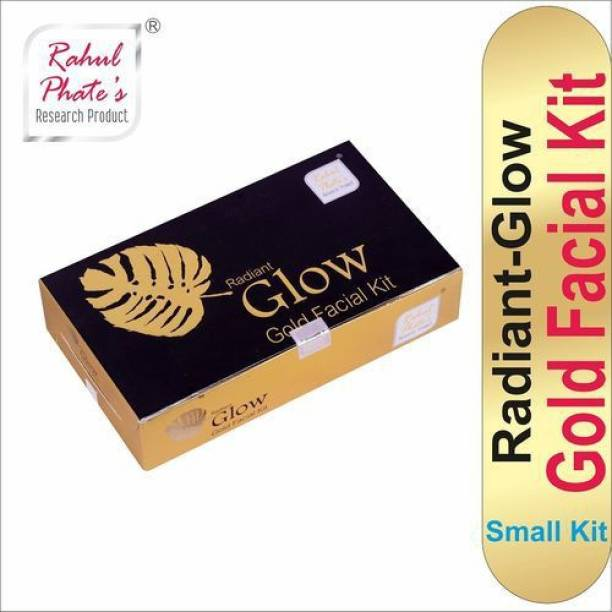 Rahul Phate's Research Product Rahul Phate Radiant Glow Gold Facial Kit for Men Small Size 50g