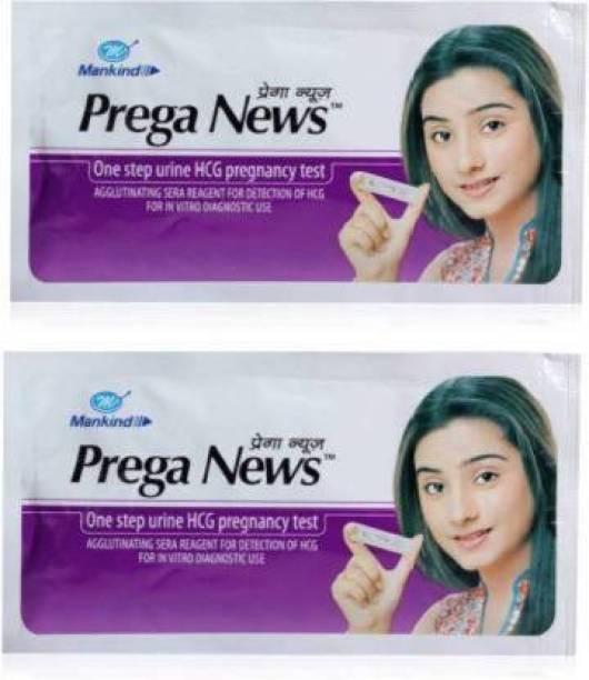 PREGANEWS Pregnancy Test Kit ( 2 Test Kits ) Pregnancy Test Kit Digital Pregnancy Test Kit