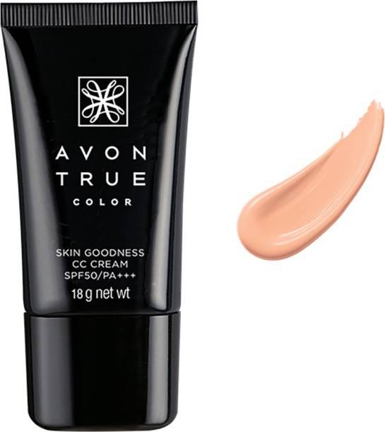 AVON True Color Skin Goodness Color Corrector CC Cream Nude Foundation