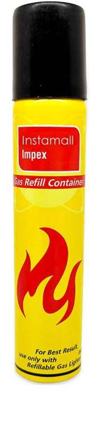 INSTAMALL Gas Lighter Refill Bottle (100 ml) Steel Gas Lighter