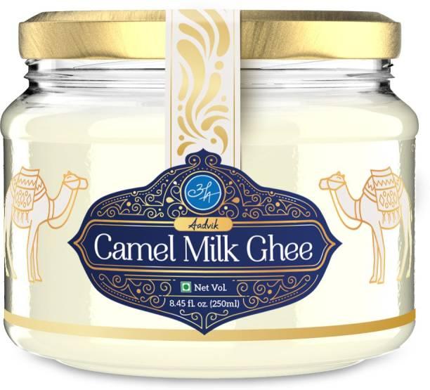 Aadvik Camel Milk Ghee Ghee 250 ml Glass Bottle