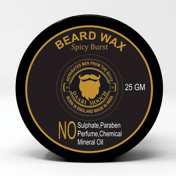 Daarimooch SPICY BURST mustache & beard wax 25 gm Beard Cream