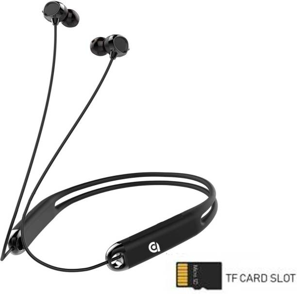 ADZOY High Bass Dual Pairing 255 Bluetooth 5.0 with Memory Card Slot Bluetooth Headset