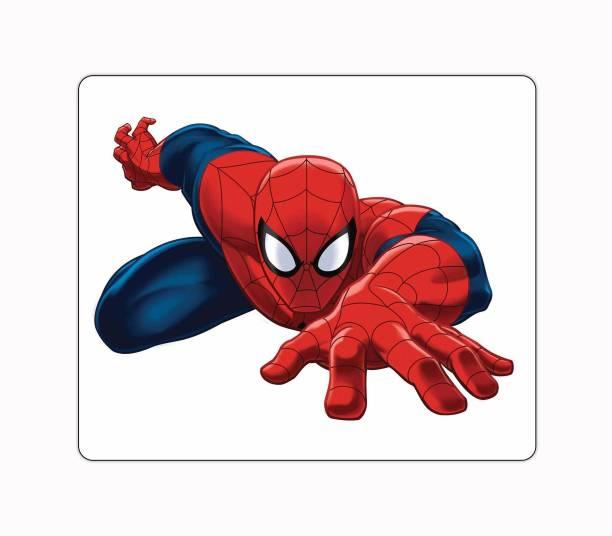 Ashvah Spiderman Cartoon Printed Premium Designer Mouse Pad for Computer/Laptop (22.5cm x 19cm) - C306 Mousepad