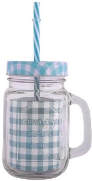 VNU Country Style Mason Jar Glass Mason Jar