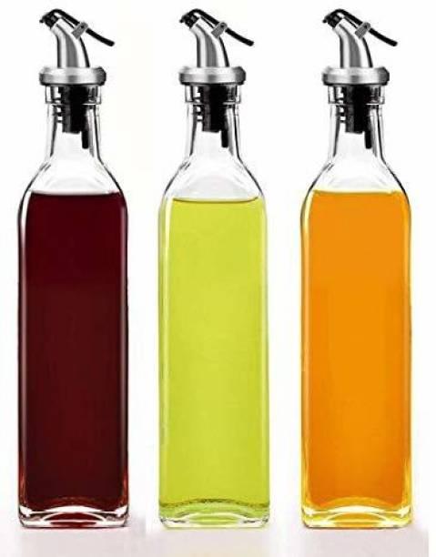ELEGIOUS 500 ml Cooking Oil Dispenser Set