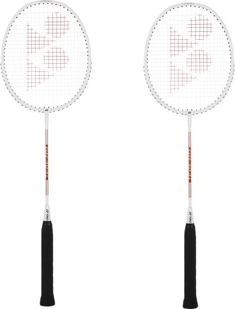 YONEX GR 303 I (Made In India) White Strung Badminton Racquet