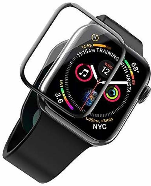 Dhavals Shoppe Tempered Glass Guard for Apple Watch Series 6, Apple Watch Series 5, Apple Watch Series 4, Apple Watch Series 2, Apple Watch Series 1