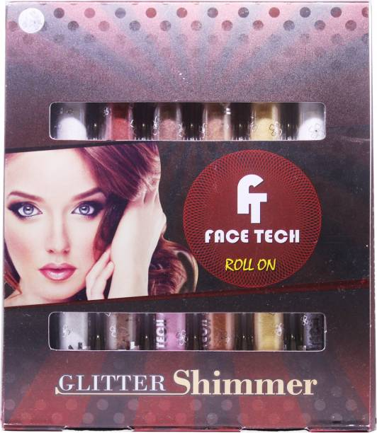 face tech Glitter Shimmer Roll On