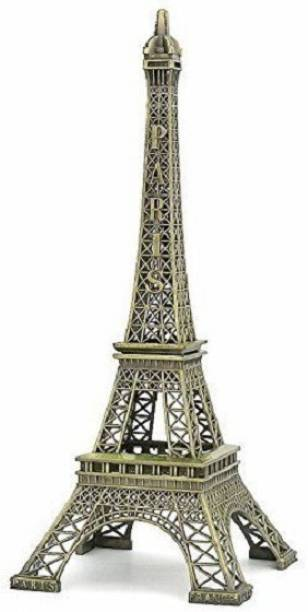 "Lavanaya Silver 6"" Eiffel Tower Statue 